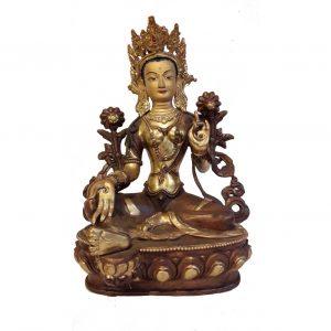 Statue de Tara verte