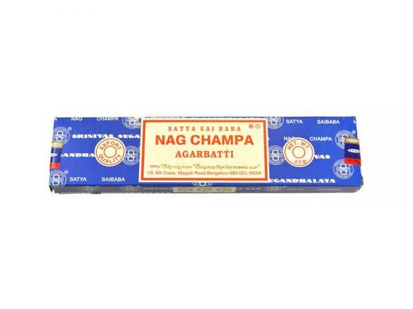 Encens indien Nag Champa Satya Saï Baba - Boite 40 gr