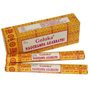 Encens indien Nag Champa Goloka - Boite 8 bâtons