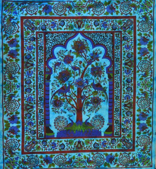 tenture indienne arbre de vie orientale
