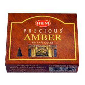 Encens cônes Precious Amber
